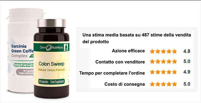 Garcinia Green Coffe e Colon Sweep